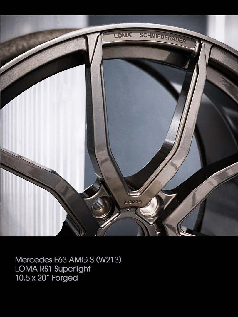 ALLOY FORGED RIMS | LOMA RS1-SL