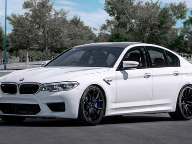 BMW M5 Custom Forged Rims.