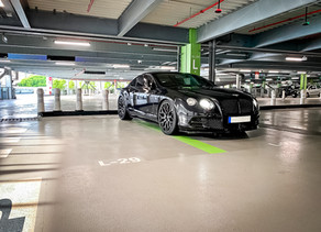 Power Tuning for the Bentley GT Speed with LOMA Blackforce One 22-Inch Custom Forged Wheels