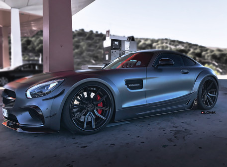 ALLOY FORGED RIMS MERCEDES AMG GT WIDEBODY | LOMA SP1-SL WHEELS