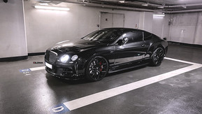 BENTLEY CONTINENTAL GT SPEED | custom forged luxury concave wheels