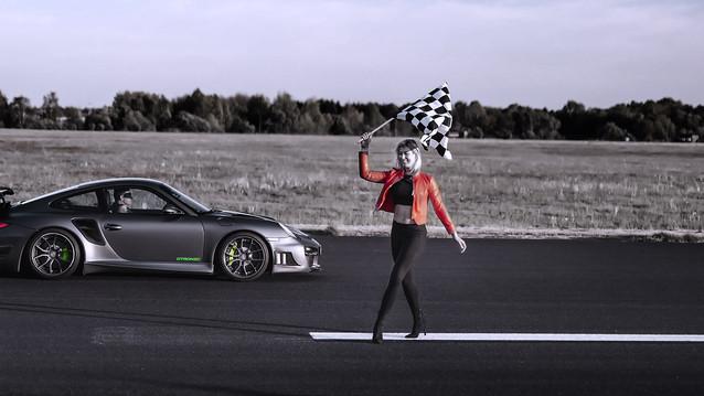 Chip tuning Porsche 911.