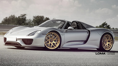 ALLOY FORGED RIMS PORSCHE 918 SPYDER | LOMA GTC-SL WHEELS