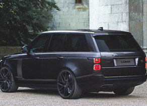 LOMA RANGE ROVER TUNING WITH 23-INCHES TURNS HEADS IN BELUGA BLACK