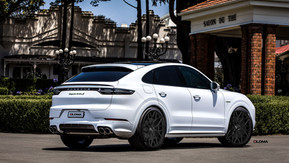 PORSCHE CAYENNE COUPE | custom forged luxury concave wheels