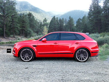 Bentley Bentayga 3-Piece Wheels.