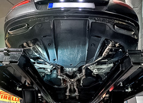 """LOMA Sport Exhaust System """" Supersports """" for the Bentley GT Speed"""