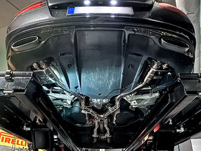 "LOMA Sport Exhaust System "" Supersports "" for the Bentley GT Speed"