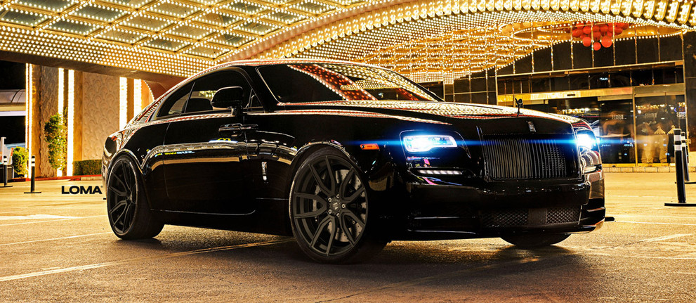 Custom Forged Concave Wheels Rolls Royce Wraith