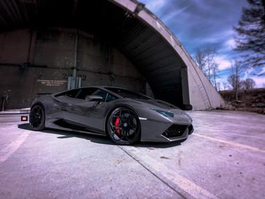 Lamborghini Huracan Custom Forged Wheel Rims  Tire Package.