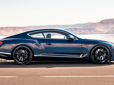 New Bentley Continental GT Tuning.