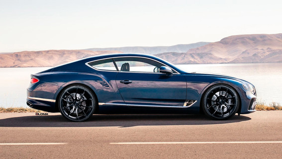 ALLOY FORGED RIMS BENTLEY GT W12 | LOMA RS1-SL