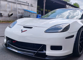 980 HP LOMA GT2 WIDEBODY CORVETTE MONSTER SCARES PEOPLE IN GERMANY - POLICE INVOLVED!