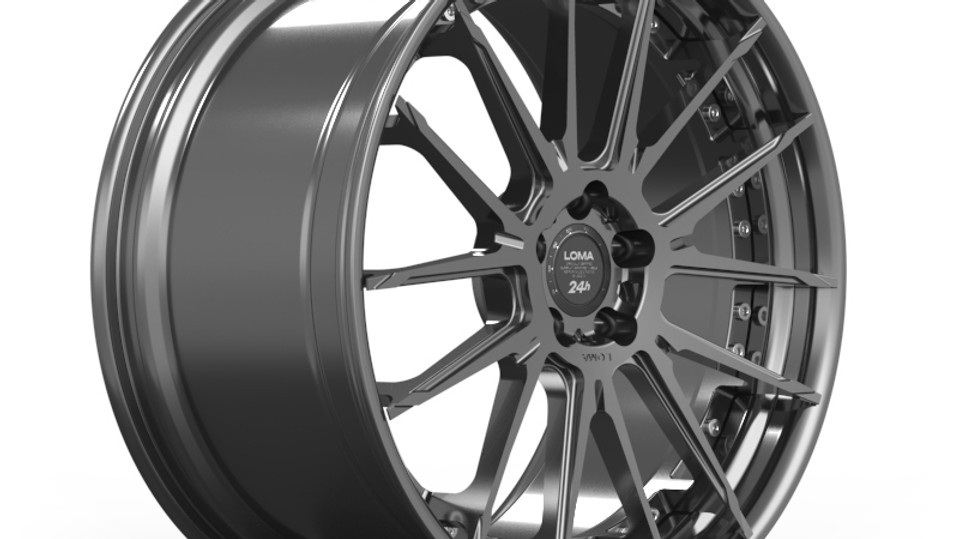 ALLOY FORGED WHEELS | LOMA TTF-SL