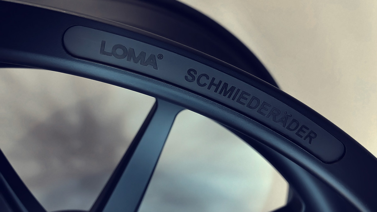 ALLOY FORGED RIMS | LOMA BLACK EDITION WHEELS