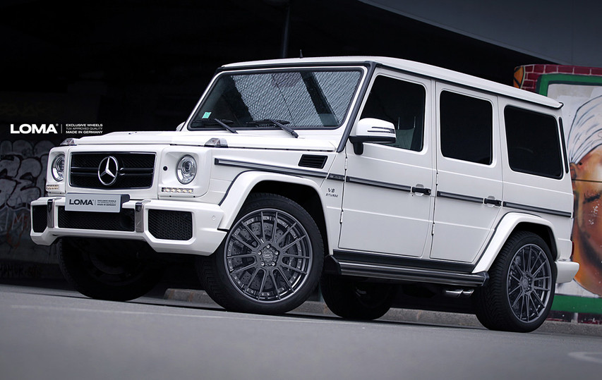 ALLOY FORGED WHEELS MERCEDES G63 AMG | LOMA TTF-SL