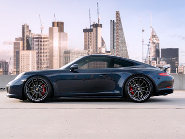 Porsche 991 with GT3 Custom Forged Wheels.