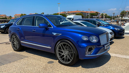 ALLOY FORGED RIMS BENTLEY BENTAYGA WHEELS | LOMA SUPERFLOW