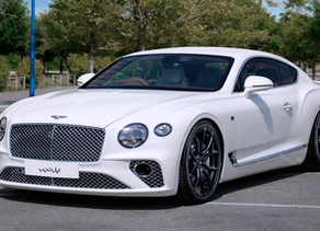 2020 LOMA BENTLEY CONTINENTAL GT W12 TUNING IN ABU DHABI WITH RS1 SUPERLIGHT FORGED WHEELS IN BLACK