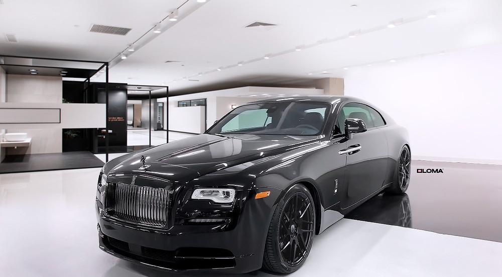 loma-rolls-royce-wraith-black-badge-tuning-custom-forged-wheels