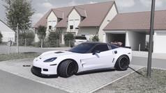 Corvette Aftermarket Wheels Rims. Pic-11
