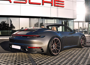 2020 PORSCHE 992 CARRERA TUNING WITH CUSTOM FORGED AFTERMARKET WHEELS IN 21-INCHES - LOMA WHEELS