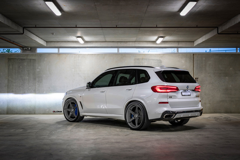 BMW X5 Staggered Wheels and Tires | BMW Custom Concave Wheels | BMW Custom Wheels.