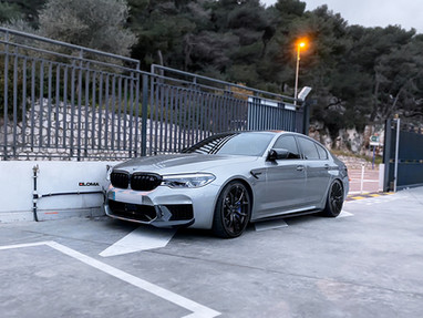 BMW M5 Custom Forged Wheels.
