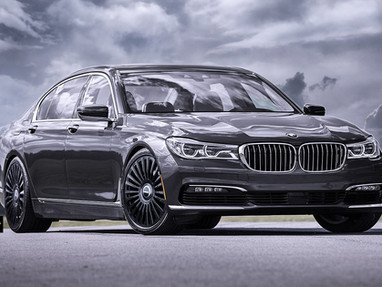 22 Inch Custom Forged Wheels for BMW 750i.