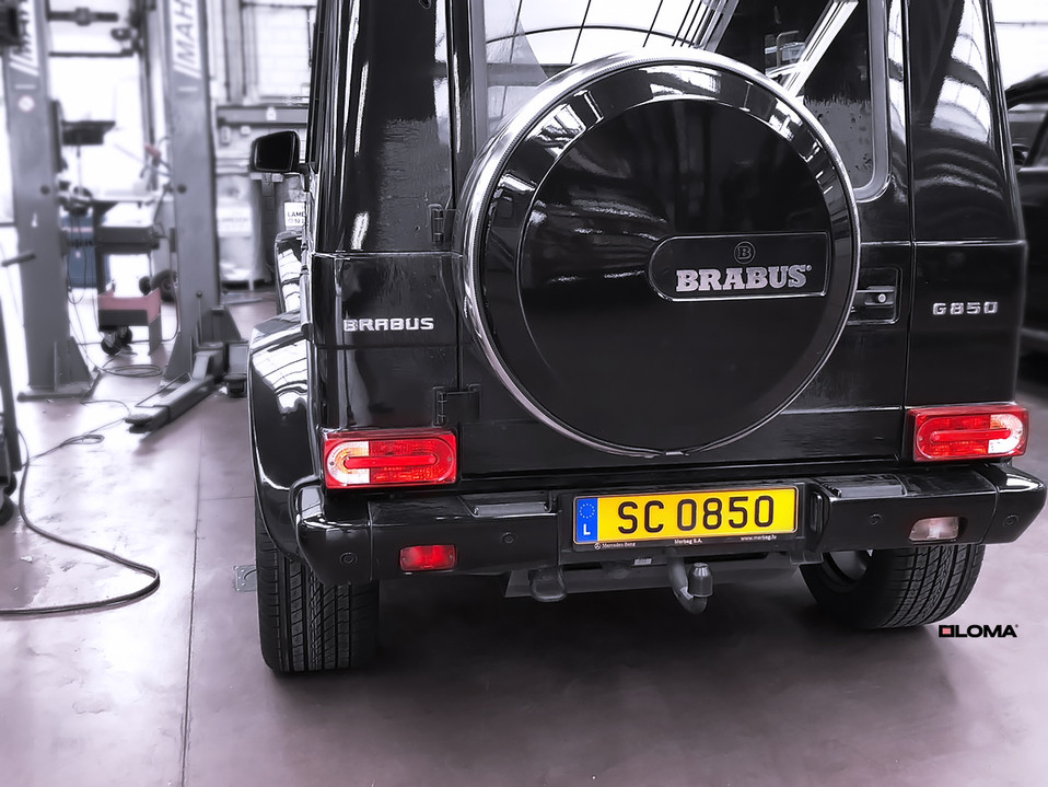 ALLOY FORGED RIMS MERCEDES G63 AMG BRABUS | LOMA BLACK EDITION WHEELS