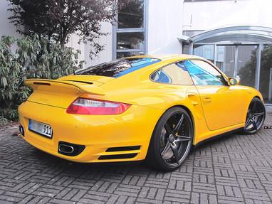 Porsche 997 Custom Forged Wheels.