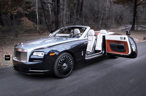 Rolls Royce Custom Forged Wheels.