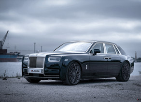 THE SECRET LIFE OF THE FREEMASONS — 2020 ROLLS ROYCE PHANTOM ON 1451 MASONIC CUSTOM WHEELS.