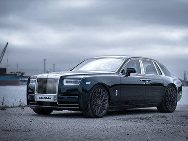 The secret life of the Freemasons - 2020 Rolls Royce Phantom on 1451 Masonic Custom Wheels.