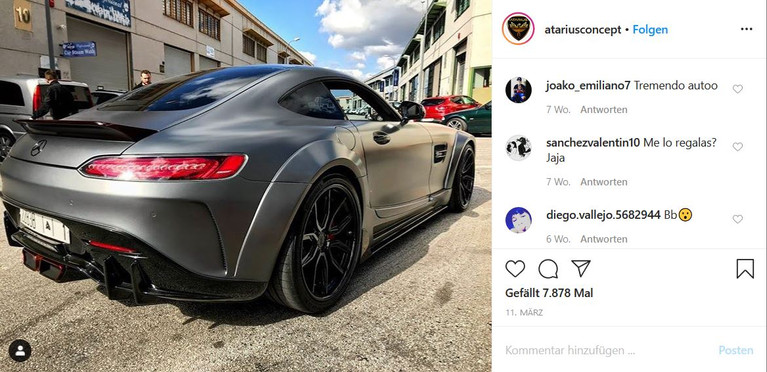 LOMA WHEELS | MERCEDES AMG GT WIDEBODY ATARIUS CONCEPT