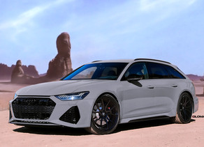NEW LOMA AUDI RS6 AVANT 2020 TUNING ON 22-INCH FORGED WHEELS MAKES IT A STAND OUT
