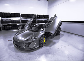 LOMA MCLAREN 650S TUNING CAPTURED ON SP1 SUPERLIGHT FORGED WHEELS IN THE USA BY WHEELS BOUTIQUE