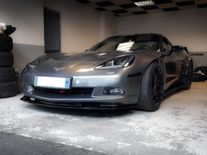 This C6 Corvette Wide Body Kit in France looks like from another planet!
