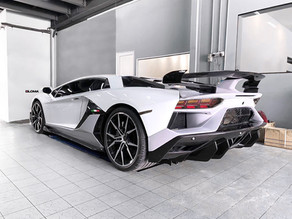 LOMA LAMBORGHINI AVENTADOR SVJ STYLE FACE LIFT BODY KIT CONVERSION FOR THE LP700-4