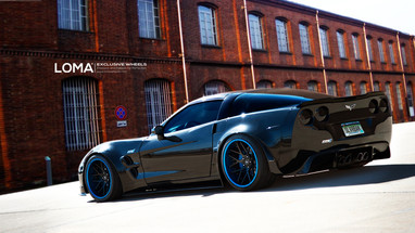 ALLOY FORGED RIMS CORVETTE C6 ZR1 WIDEBODY | LOMA GTC-SL WHEELS