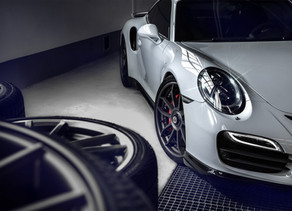 900 HP LOMA PORSCHE 991 TURBO S SMOKES TIRES ON GT3 FORGED WHEELS