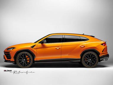 Lamborghini Urus Custom Wheels.