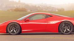 FERRARI F8 CUSTOM WHEELS   Ferrari Custom Wheels   Ferrari Concave Wheels.
