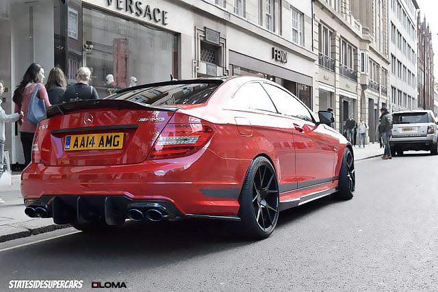 mercedes-c63-amg-coupe-stanced-on-custom-rims.