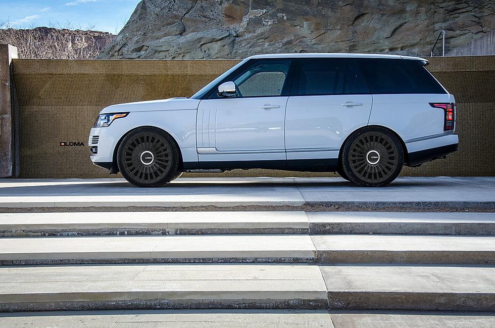 white-range-rover-black-rims-loma-wheels