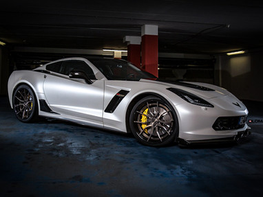 C7 Corvette Custom Forged Wheels.