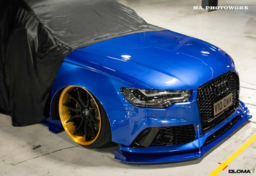 ALLOY FORGED RIMS AUDI RS5 | LOMA SP1-SL WHEELS