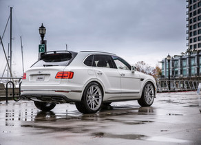 Bentley Bentayga Custom Forged Wheels in 22-Inches makes the Flying B look awesome