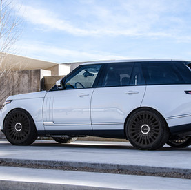 Amazing Range Rover Autobiography on 22-Inch Custom Forged Wheels by LOMA