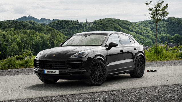 Chip tuning Porsche Cayenne Coupe.
